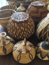 more handwoven baskets