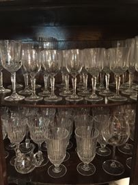 Misc glassware & crystal