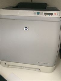 HP LASERJET 2600N COLOR LASER PRINTER -USED W/ TONER CARTRIDGE $50 With the processing speed of 264MHz and 16MB RAM, the HP LaserJet 2600N ensures to give you the right speed and performance that you need for good quality color documents. The comparatively faster speed of this HP workgroup printer prints up to 8 paper per minute for both B/W and color. The single door access and four print cartridges in this HP color printer give you hassle-fee printing. The HP LaserJet 2600N has a resolution of 600 x 600 dpi that provides you with exceptional-quality color printing. The front-panel LCD in this HP workgroup printer makes it easy to use, set up and maintain. The toner formulas together with fuser technology in this HP color printer give you crisp detail and sharp color.