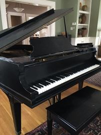 Mason Hamlin Baby Grand Piano, 1896, Playable Condition!