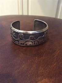 Tommy Singer signed cuff
