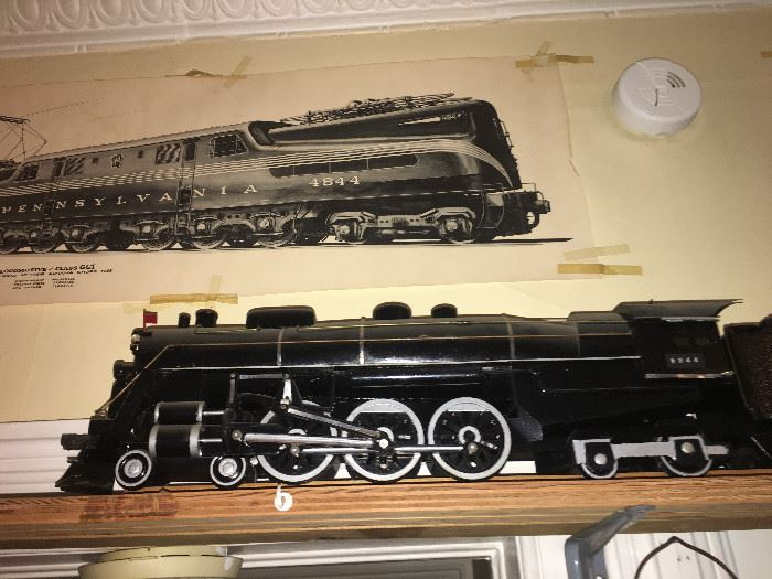 LARGE SCALE NEW YORK CENTRAL TRAIN