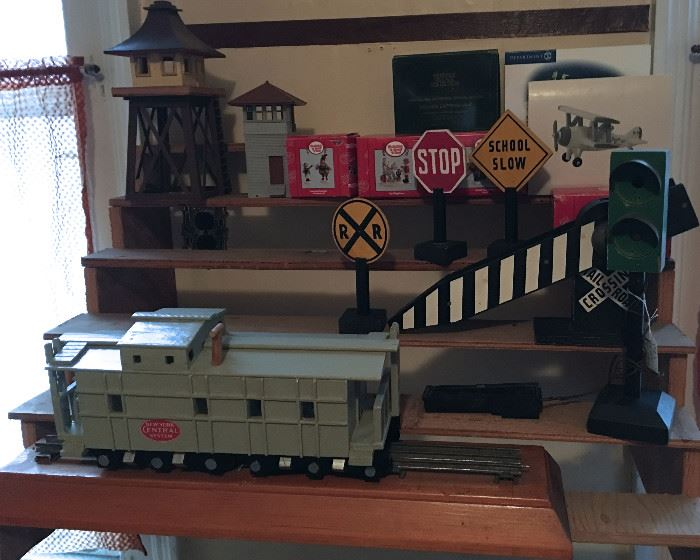 VINTAGE TRAINS, AND ACCESSORIES