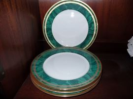 Christian Dior place settings and serving pieces