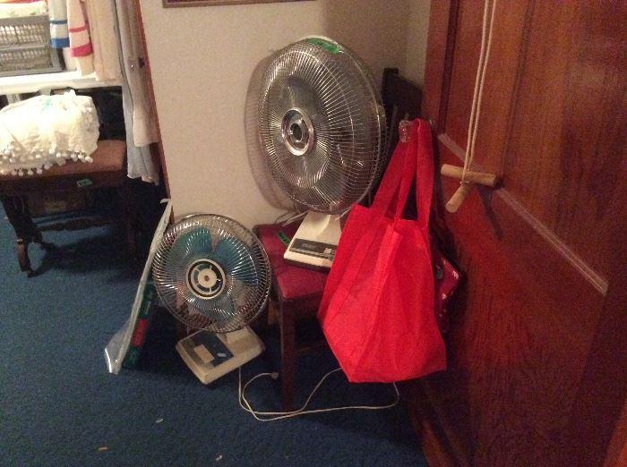 Fans & bags