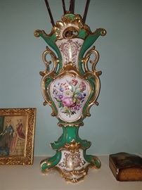 "Fabulous pair of 10"" Vases"