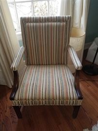 one of a pair of greast looking vintage chairs