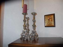 Heavy metal candlesticks