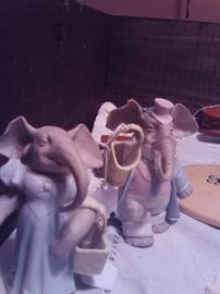 Porcelain Elephants