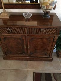 Drexel Heritage entry way cabinet (matches dining room table and china cabinet)