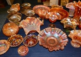 MORE Carnival glass