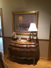 Italian Carved Bombay Commode.... Beautiful!!