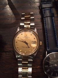 Rolex 18K & Stainless