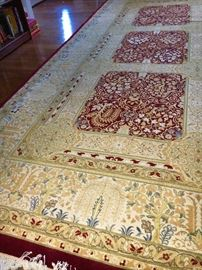 Beautiful Tabriz Oriental rugs, hand knotted.