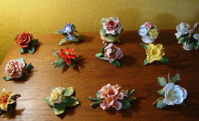 Porcelain Flower Collection by Lenox and Capodimonte