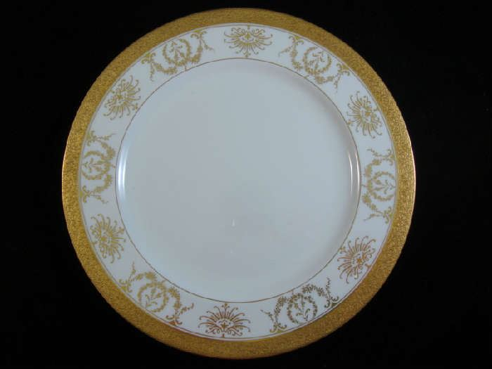 Coalport China Plates made for Tiffany and Co.