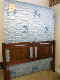 Queen Bed and Headboard
