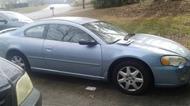 $1100  Chrysler Sebring 2003, drives strong, very clean, music, air, wipers, etc all seem to work. Nice car to putz around town.