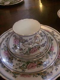 "Staffordshire ""Chelsea Manor"" fine bone English china"