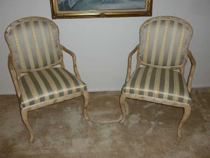 Pair of beautiful ornate chairs