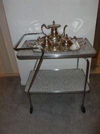 Coolest retro tea cart