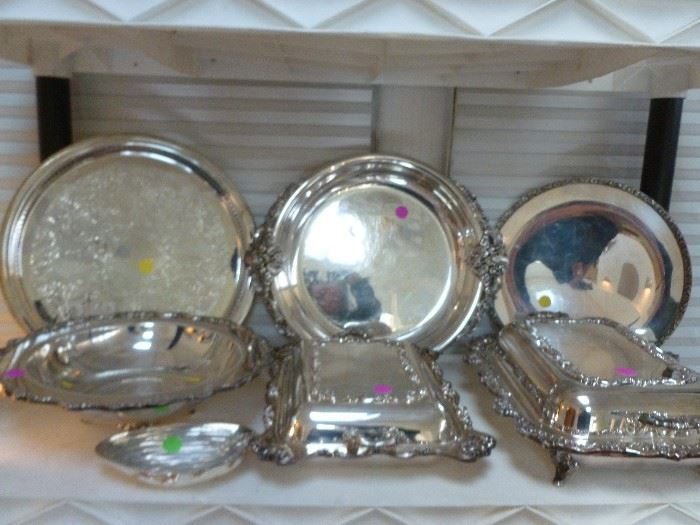Beautiful fancy silver plate