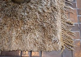 BUY IT NOW!  Lot #104, Large Shag Area Rug, $400