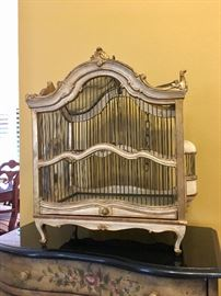 Antique Florentine Bird Cage
