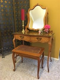 Gorgeous Antique French Vanity