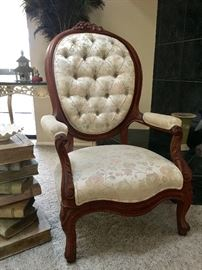 Fine Upholstered Victorian Chair
