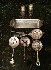 Misc Sterling Spoons, etc.