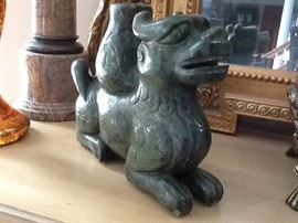 Jade Foo Dog $2000. Can ship
