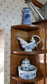 Blue Danube and other Porcelain