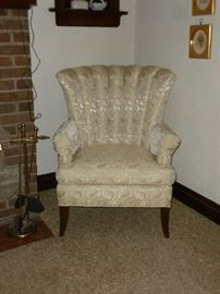 There are a pair of these nice old chairs
