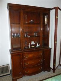 Lammerts mahogany china cabinet