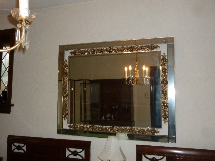 Great looking vintage mirror