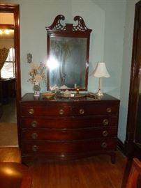 Lammerts mahogany dresser w/mirror