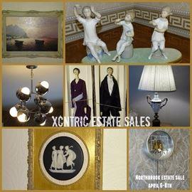 Xcntric Estate Sales Northbrook Estate Sale April 6-8th.