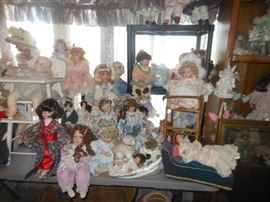 Just a sample of the dolls!!!
