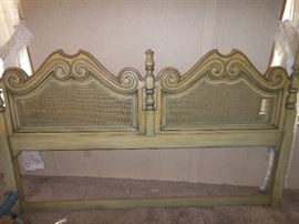 King headboard/also have frame, mattress & box springs