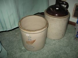 Red Wing crock