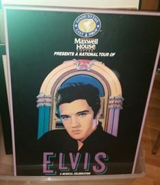 Elvis has entered the building... Thank you, thank you very much...