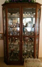 Display cabinet, collectibles