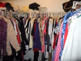 Some of the clothes!