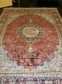 Room Size Silk Persian Rug