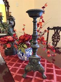 Antique Altar Candlesticks