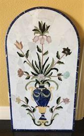 Semi-Precious Pietra Dura Wallhanging