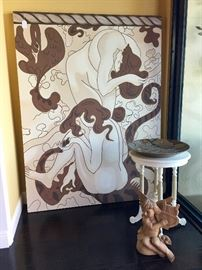 Commissioned Nude by Delray Artist Sharon Koskoff