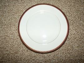 "Dinner plate to Lenox China ""Monroe"""