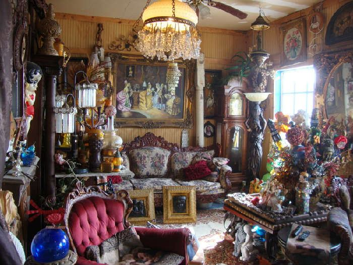 Eclectic Mix of Furniture, Collectibles, and Decor